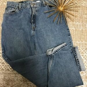 Levis 550 relaxed fit tapered leg mom jeans